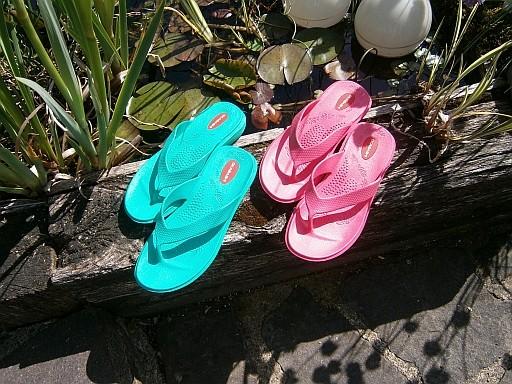wholesale dealer ab477 0d727 Maui Flip Flops mit Fußbett von Okabashi gesundheit-ja-bitte